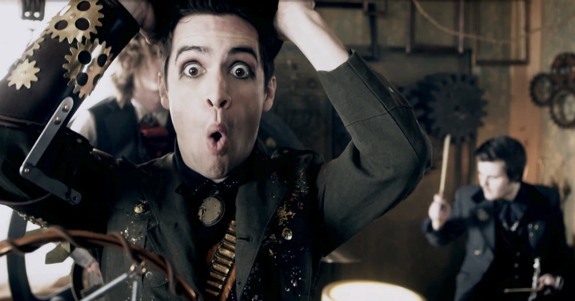 Panic! At The Disco's 'Vices and Virtues'; Mona Lisa smiles