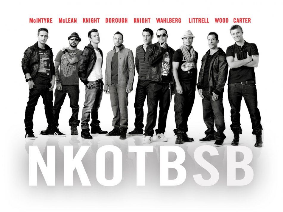 NKOTBSB (New Kids On The Block/Backstreet Boys) 'Don't Turn Out The Lights' – A.K.A The almost middle aged manband music machine