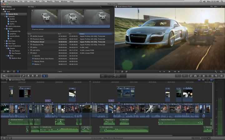 Why Final Cut Pro X is not the devil but a glimpse of the future of filmmaking
